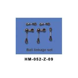 Dragonfly no52 Ball linkage ring set