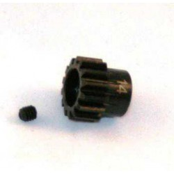 14T Pinion Gear 5mm, M1