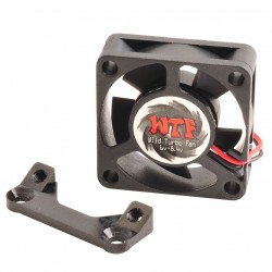Fan Mount with WTF Fan 30mm Black